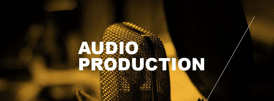 audio production page banner